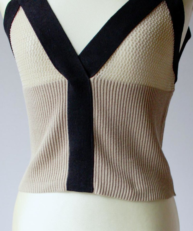 TAN MESHES CAMISOLE beige