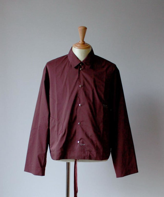 PORTVEL COACH SHIRT burgundy