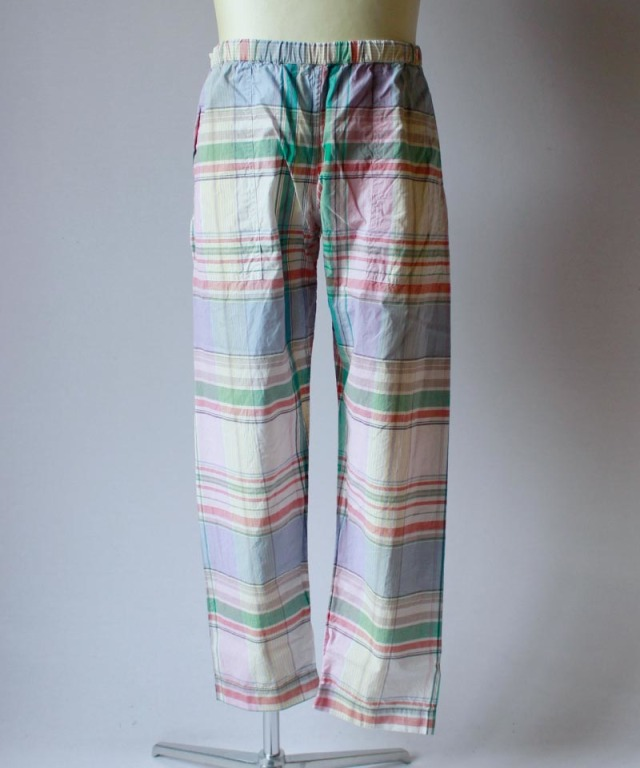 PHINGERIN NIGHT PANTS PLAID sax large check