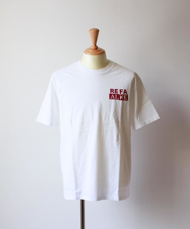 LAUGH&BE UP TO YOU S/S TEE white