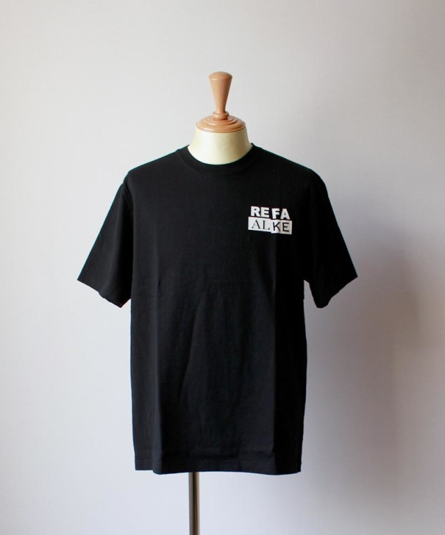 LAUGH&BE UP TO YOU S/S TEE black