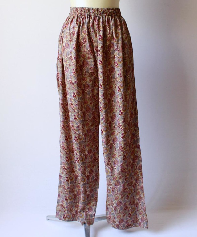 mmooii SILK PANTS pattern