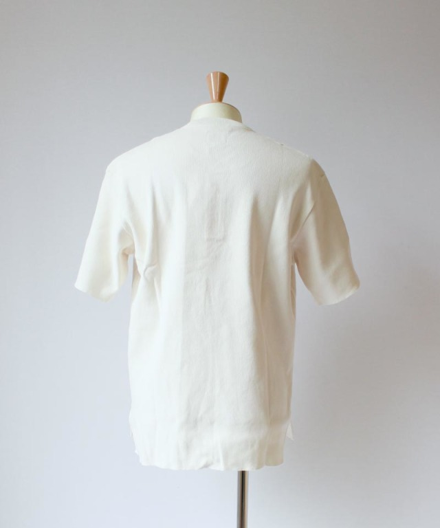 CURLY HENRY NECK offwhite