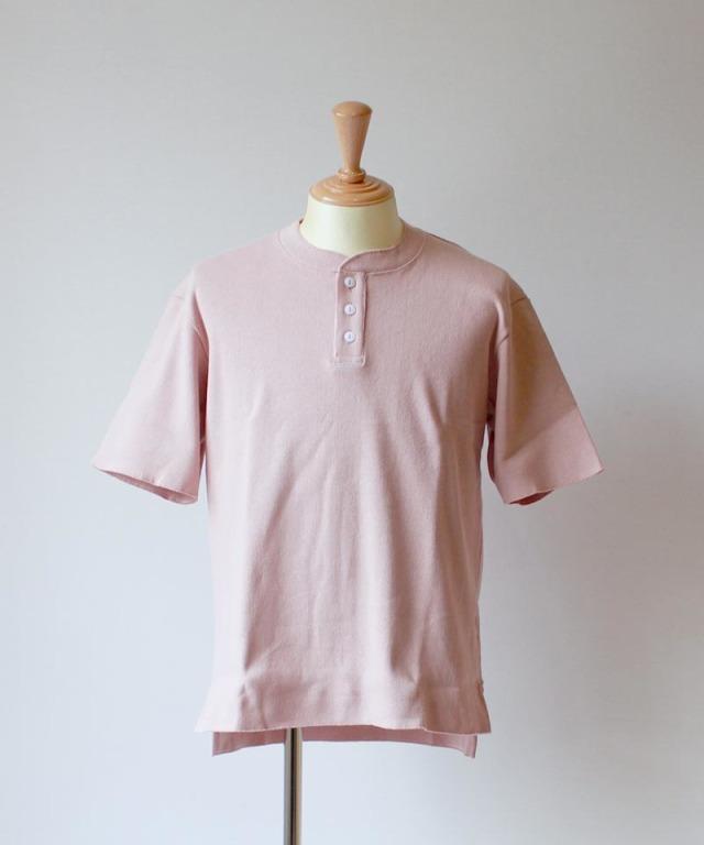 CURLY HENRY NECK smoke pink