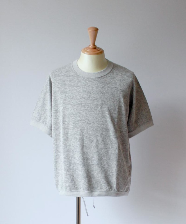 CURLY BRACE DS SWEAT gray