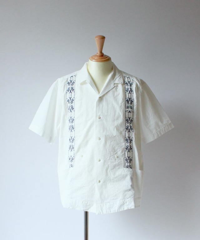 QUILP Cuban Shirt white