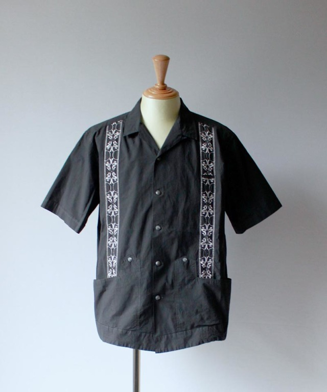 QUILP Cuban Shirt black
