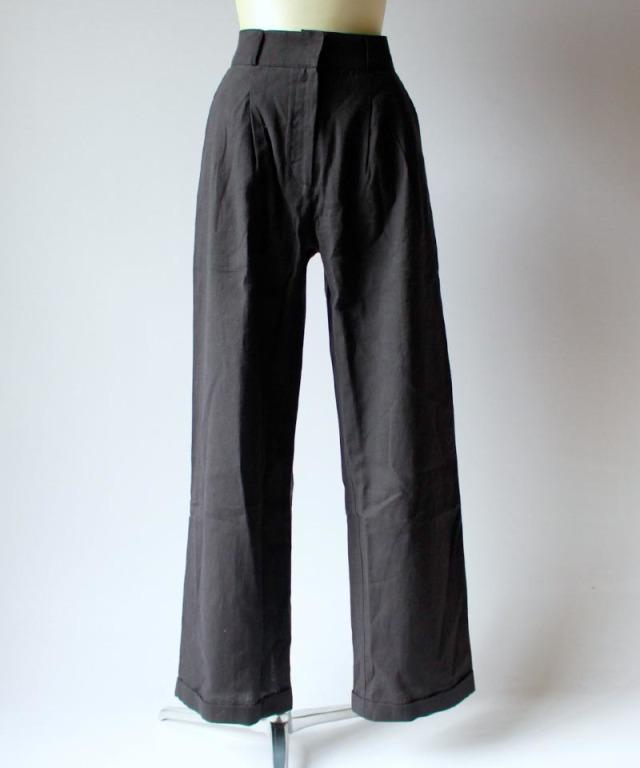 BASERANGE COMO PANTS black