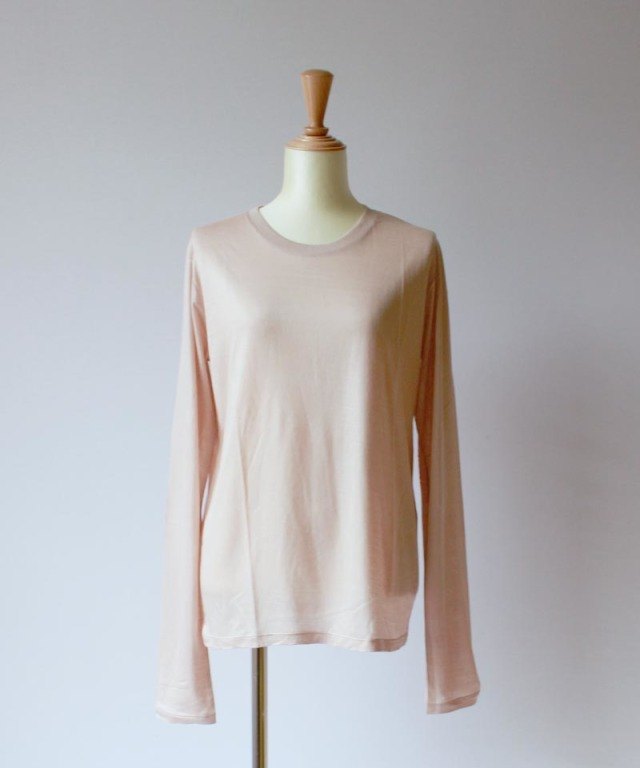 BASERANGE LONG SLEEVE TEE nude