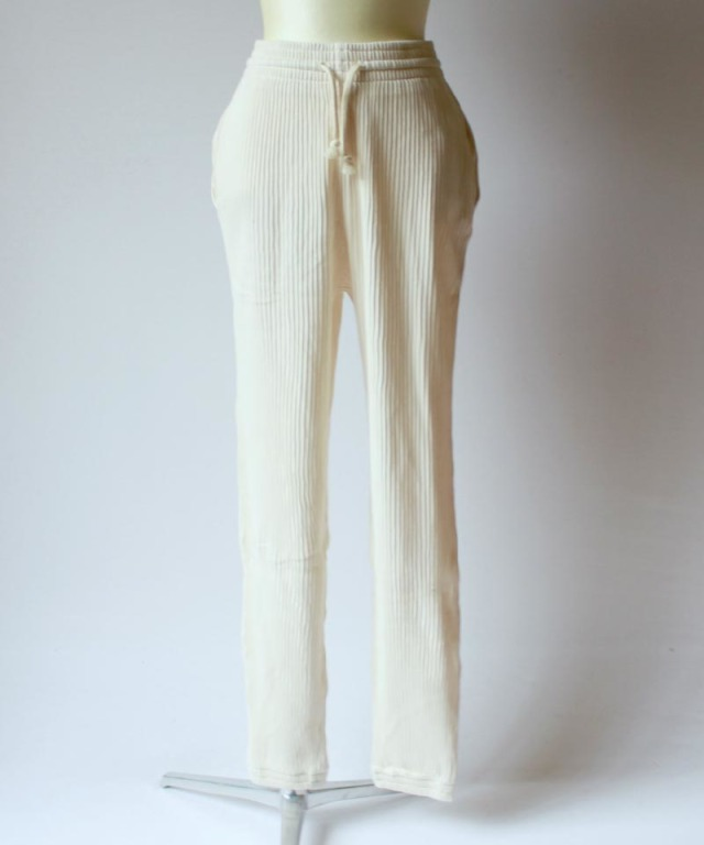BASERANGE SWEAT PANTS off white