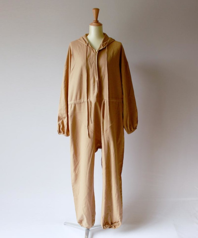 BASERANGE ELDER JUMP SUIT bath brown
