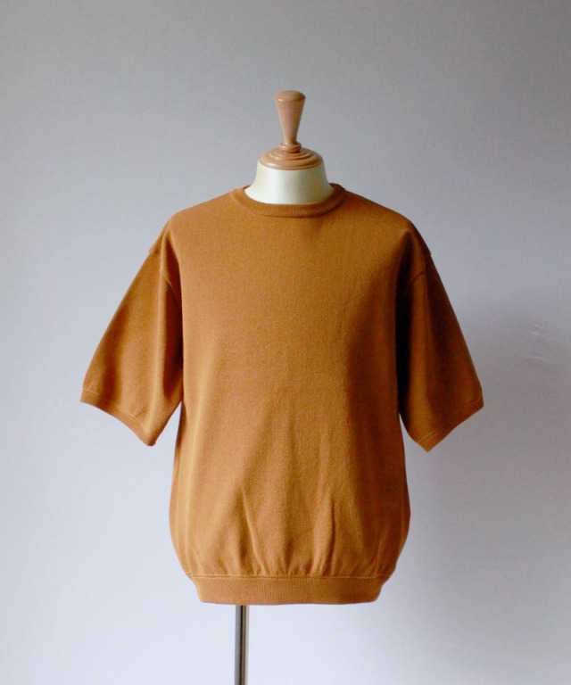crepuscule S/S KNIT orangebrown