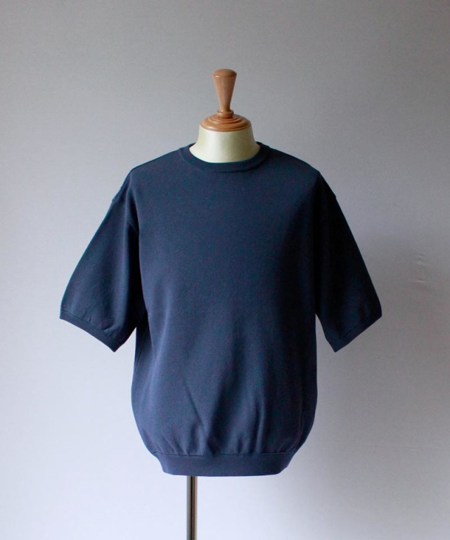 crepuscule S/S KNIT bluegreen