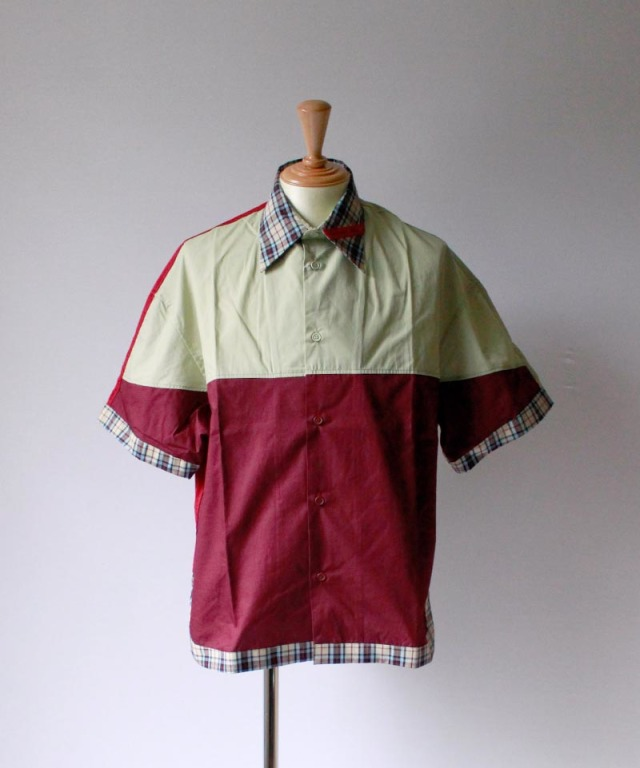 PHINGERIN MONLY SHIRT moss green x wine
