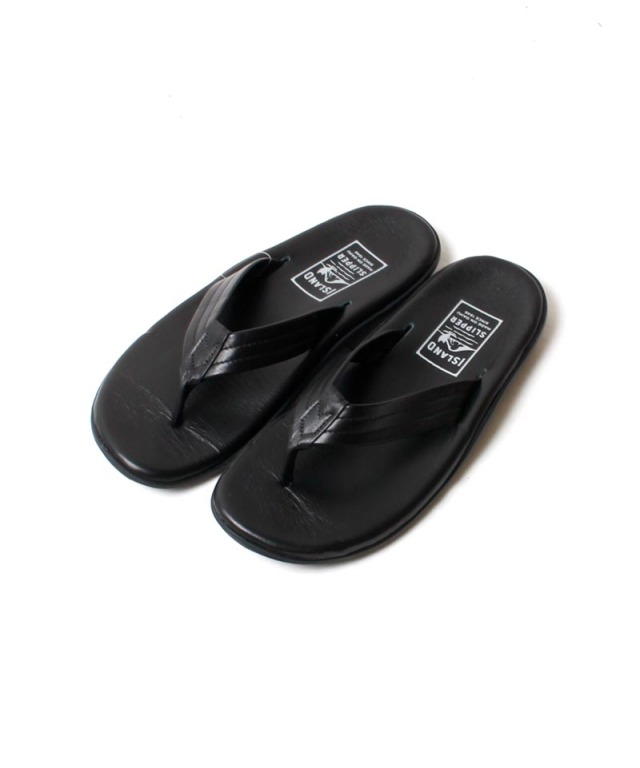 ISLAND SLIPPER THONG black
