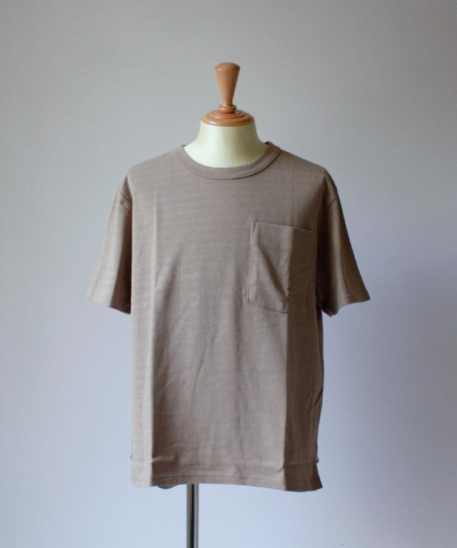 CURLY AZTEC CN POCKET TEE taupe