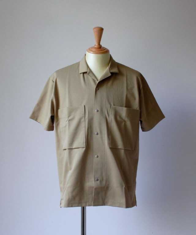 CURLY PROSPECT SS SHIRTS beige