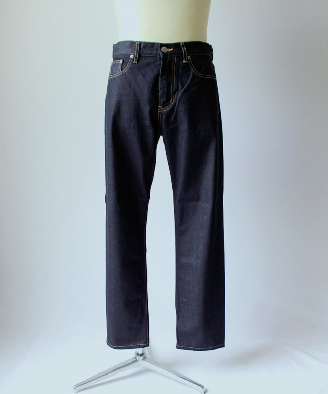 beautiful people SELVAGE DENIM BOY FRIENDS PANTS indigo