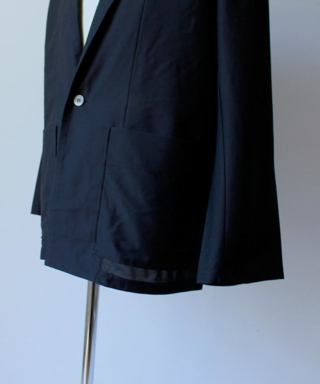 CURLY CLOUDY LIGHT JACKET black