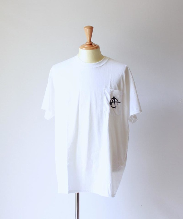 unsame ANARCHY TEE white