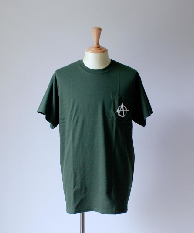 unsame ANARCHY TEE green