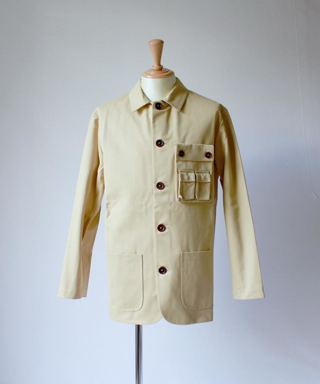 Pesonal Effects Cotton Twill Workaday Jacket beige