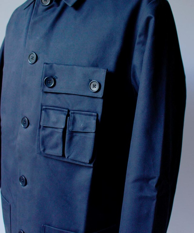 Pesonal Effects Cotton Twill Workaday Jacket navy