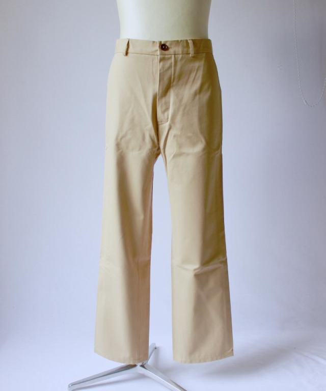 Pesonal Effects Cotton Twill Workaday Trousers beige