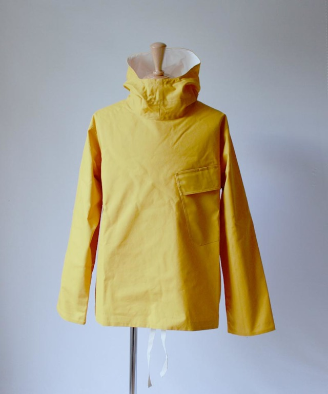 Pesonal Effects Cotton Sahara Reversible Deeck Smock yellow