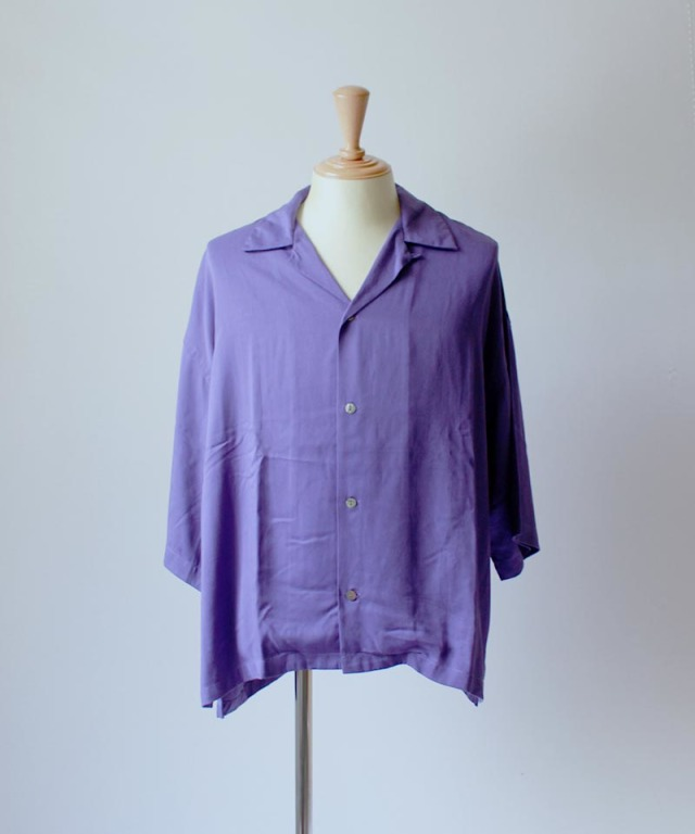 bukht OPEN COLLAR SHIRTS purple