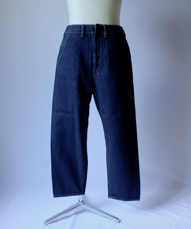 bukht NEW BIG DENIM - 13OZ SELVAGE DENIM - indigo / one wash