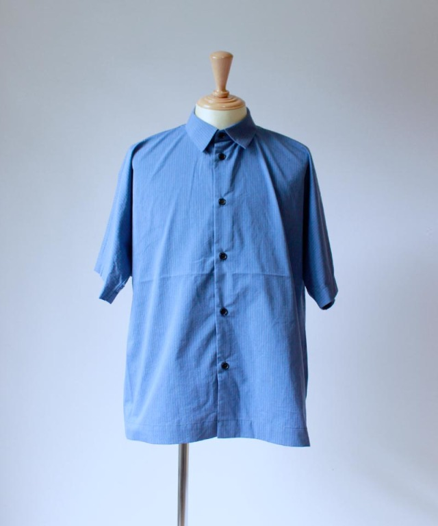 HEALTH DOLMAN SLEEVE SHIRTS BLUE STRYPE