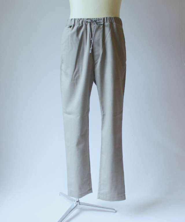 HEALTH EASY PANTS #1 GRAY CHECK