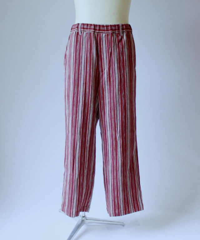 HEALTH EASY PANTS #3 RED STRIPE