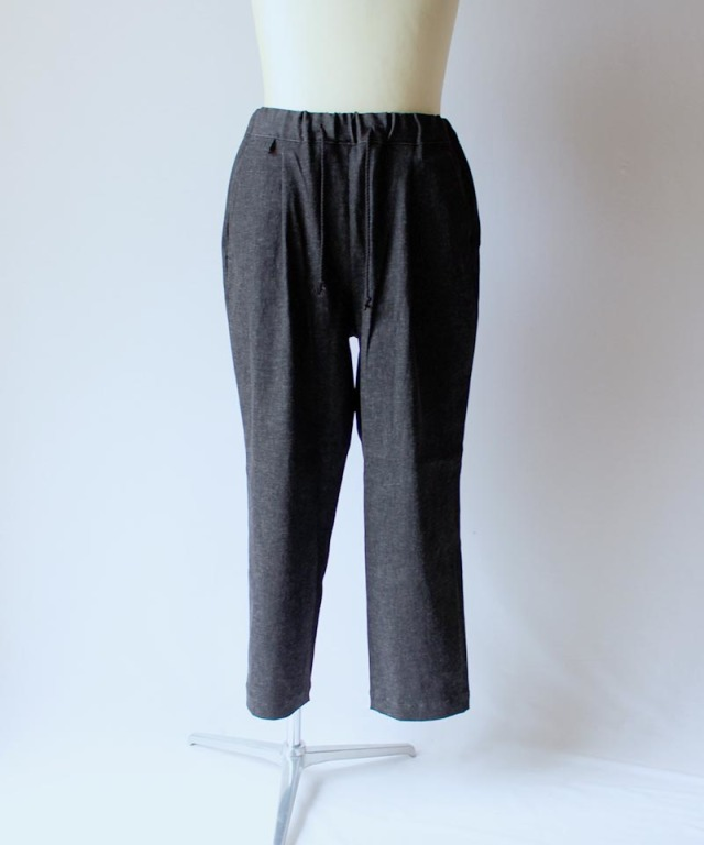 HEALTH EASY PANTS #2 BLACK DENIM