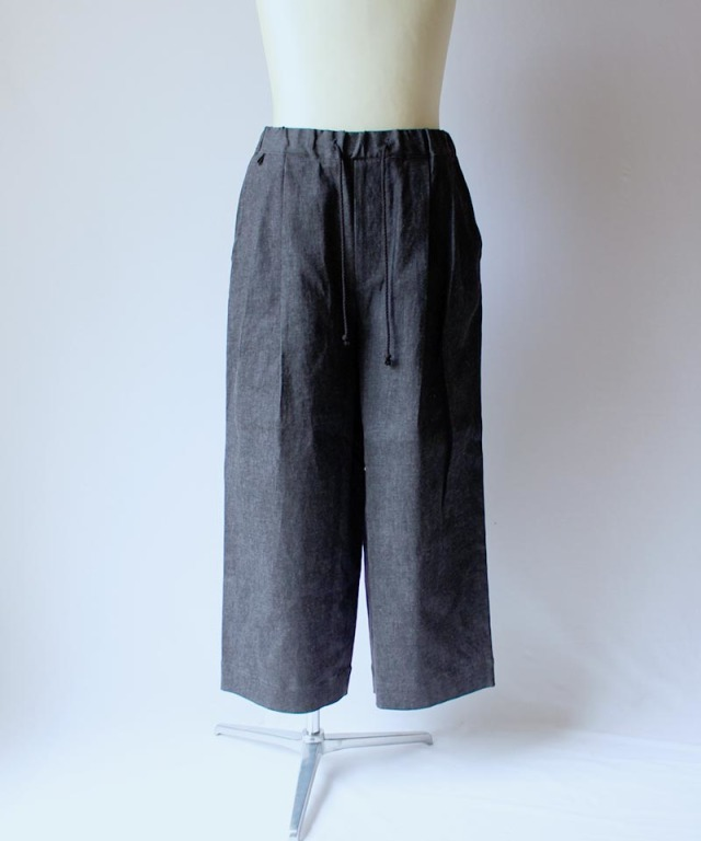 HEALTH EASY PANTS #4 BLACK DENIM
