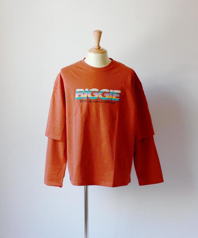 DAIRIKU BIGGLELAYERED T-SHIRTS orange