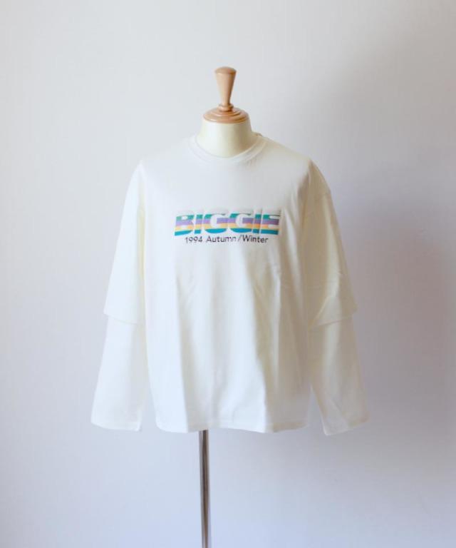 DAIRIKU BIGGLELAYERED T-SHIRTS white