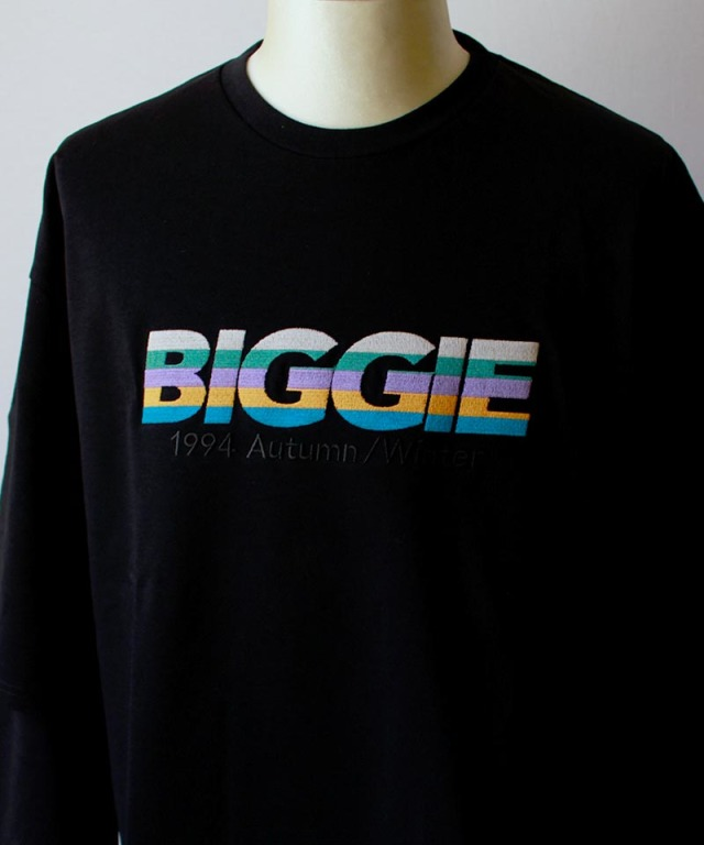 DAIRIKU BIGGLELAYERED T-SHIRTS black