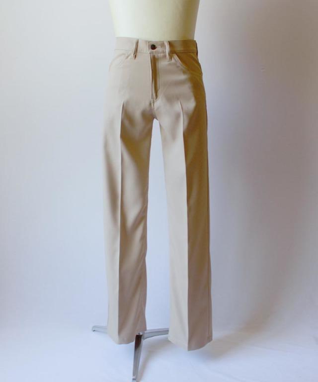 DAIRIKU FLASHER PRESSED PANTS beige