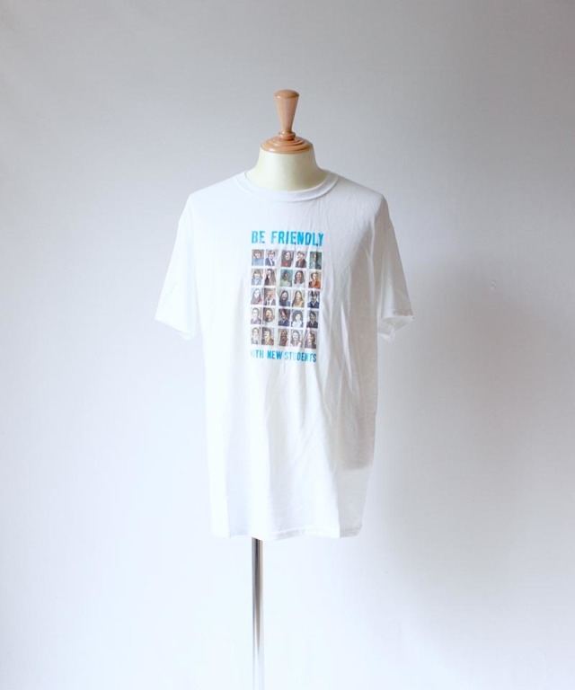 LANDLORD Be Friendly T-Shirt White