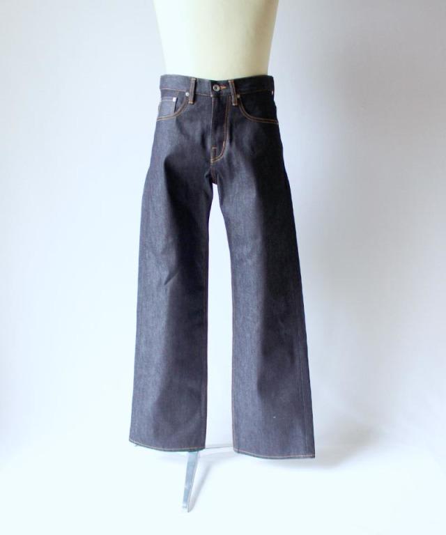 DAIRIKU Non-Wash Denim Pants INDIGO