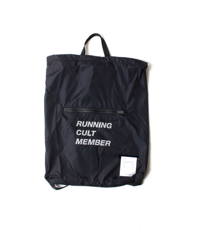 SATISFY THE GYM BAG BLACK