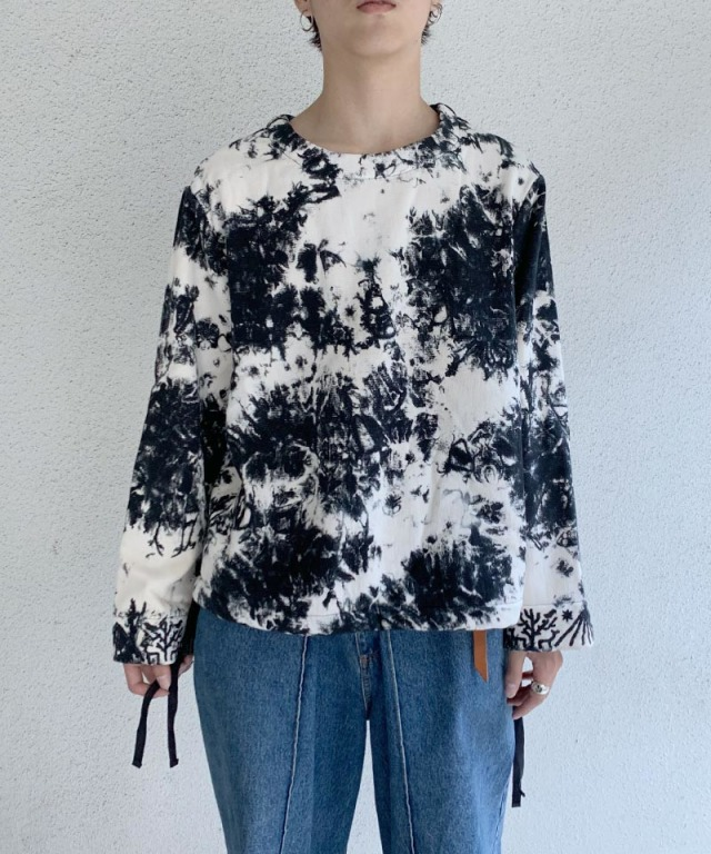 EASY TO WEAR SWEAT COTTON TWL HAND EMBROIDERED TYPE-3 SMOG