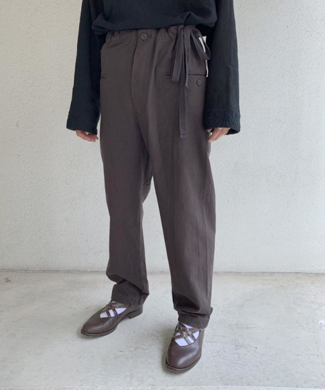 EASY TO WEAR CANVAS PANT AFRICAN BROWN