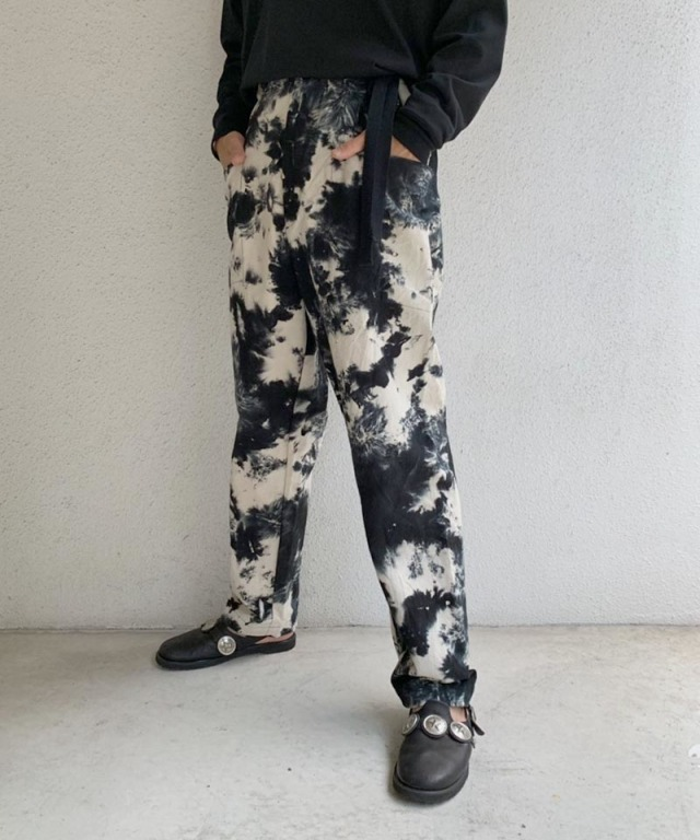 EASY TO WEAR CANVAS PANT SMOG