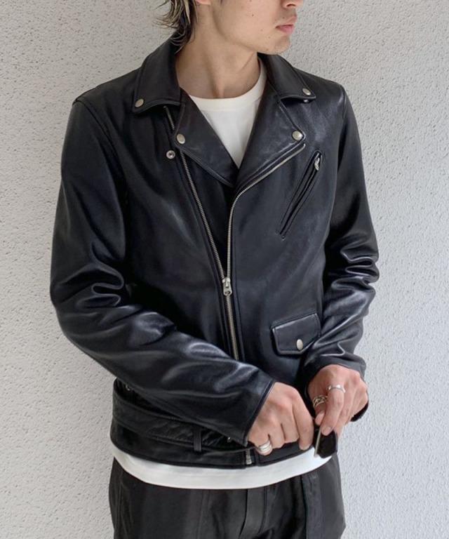 beautiful people vintage leather riders jacket black