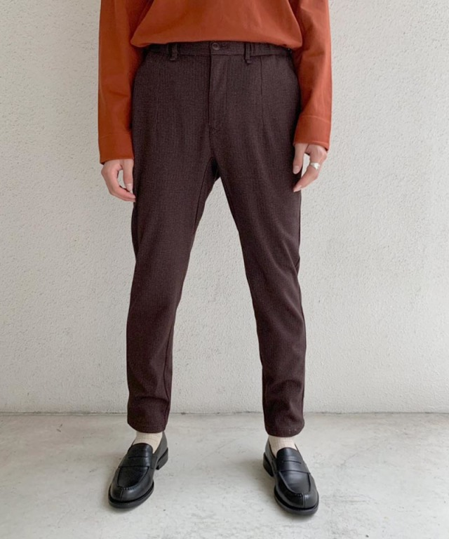 CURLY CLIFTON EZ TROUSERS BROWN HT