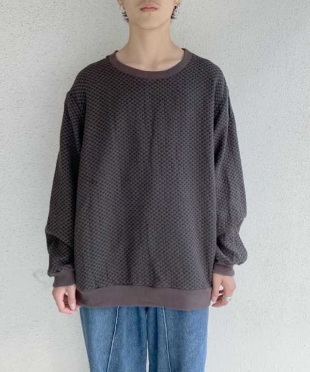 KUON PULL OVER SHIRTS BROWN