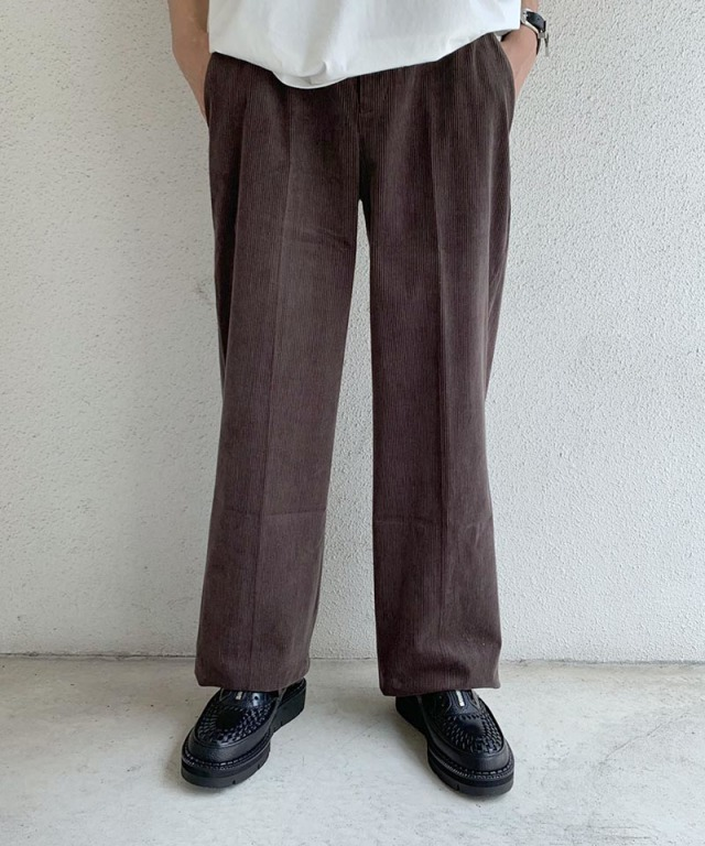 beautiful people corduroy high waist pants brown